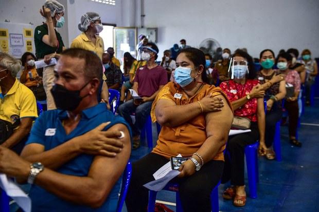 ไทยเริ่มฉีดวัคซีนโควิด-19 พร้อมกันทั่วประเทศ