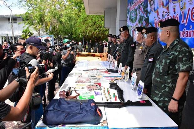 ตำรวจยะลาแถลงจับแก๊งยาเสพติด 'แบมะ' ยึดทรัพย์ 40 ล้านบาท