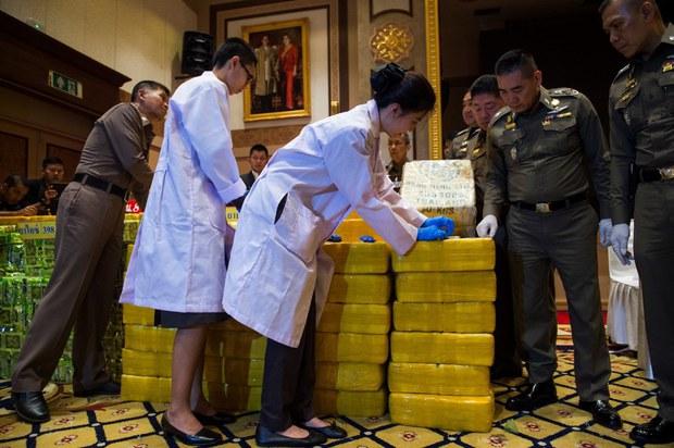 UNODC: ยาเสพติดที่ผลิตในสามเหลี่ยมทองคำ เพิ่มขึ้นสี่เท่าตัว