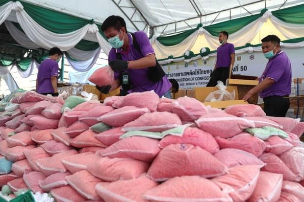 UNODC: ขบวนการค้ายาเสพติดขยายตัว แม้มีโควิดระบาด